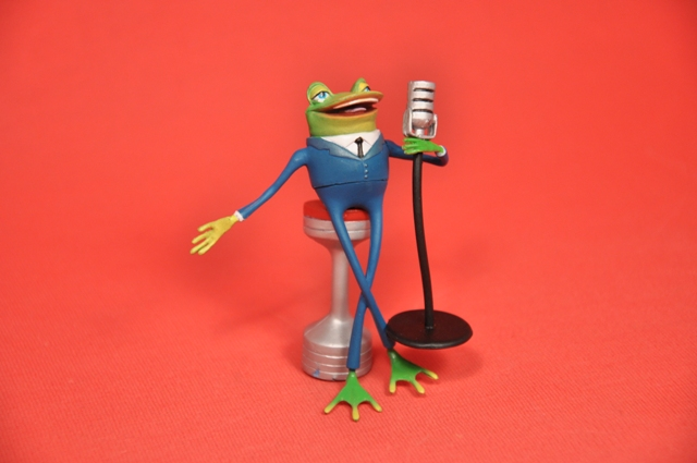 meet the robinsons frog singing video